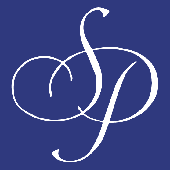 Sargent and Plester initials logo