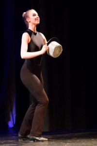Tap dance performance at Elgiva Theatre